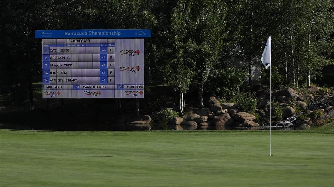 Aussie college star Booth eyes PGA debut