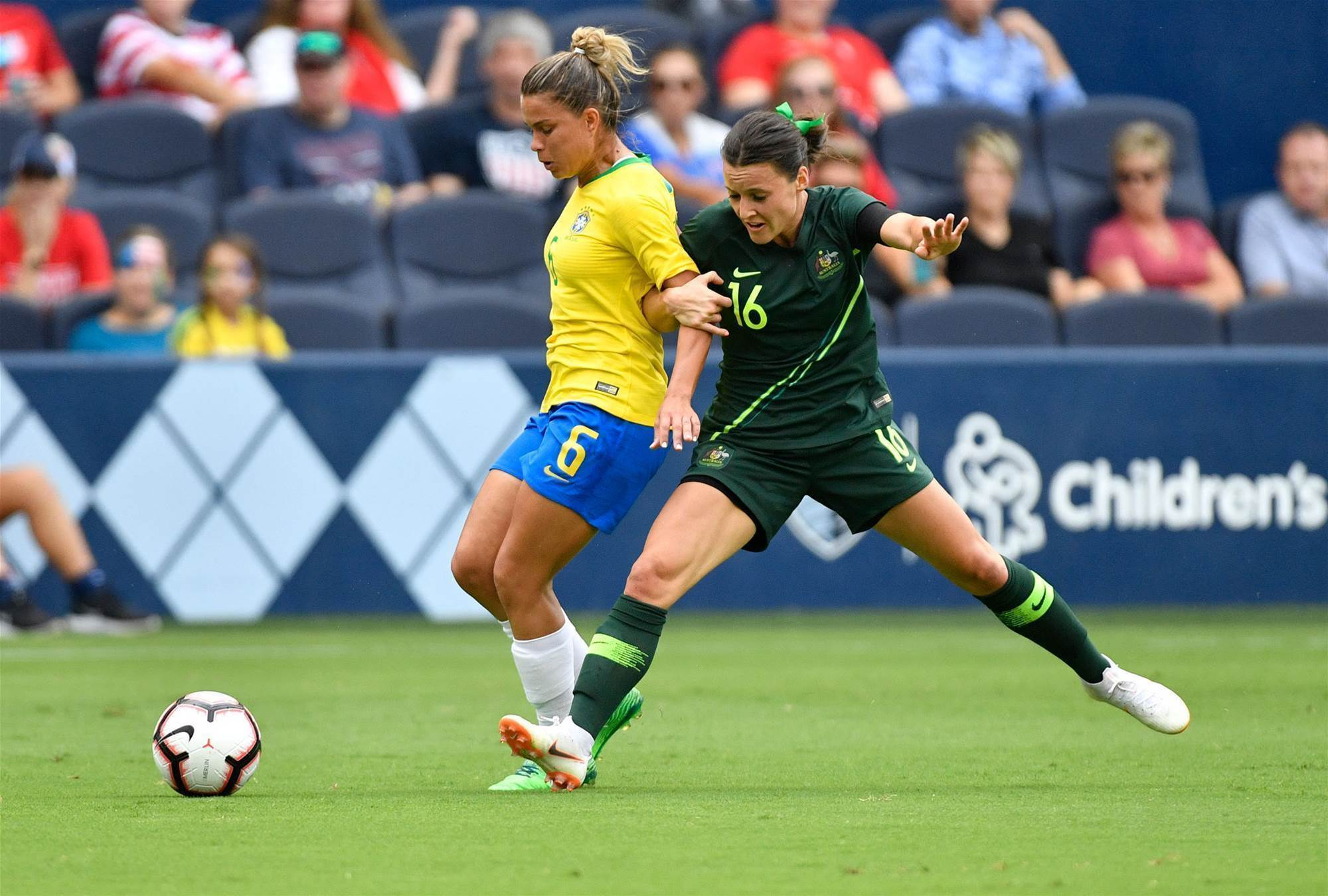 Three things we learnt: Brazil v Matildas