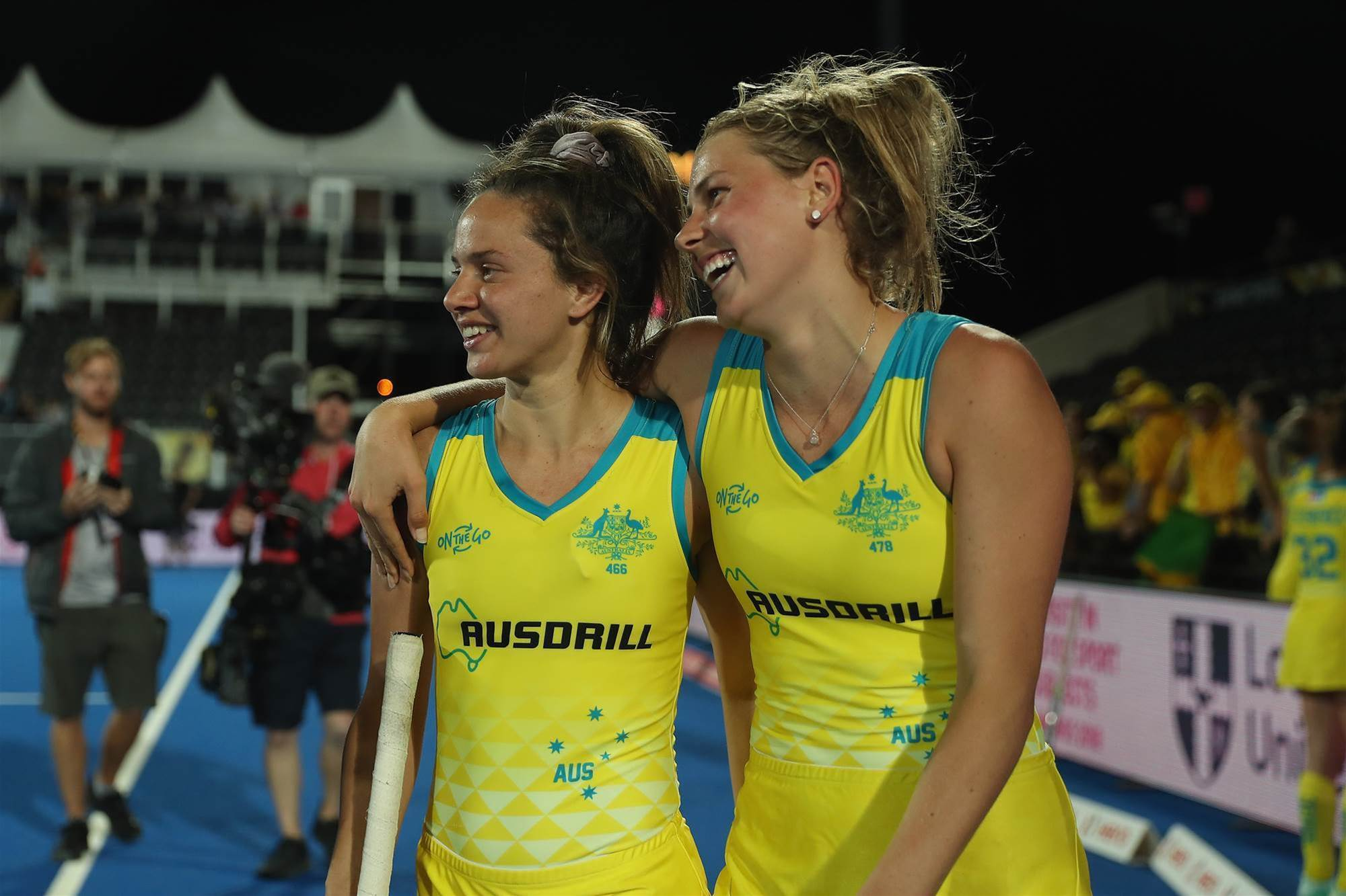Hockeyroos to face world number one