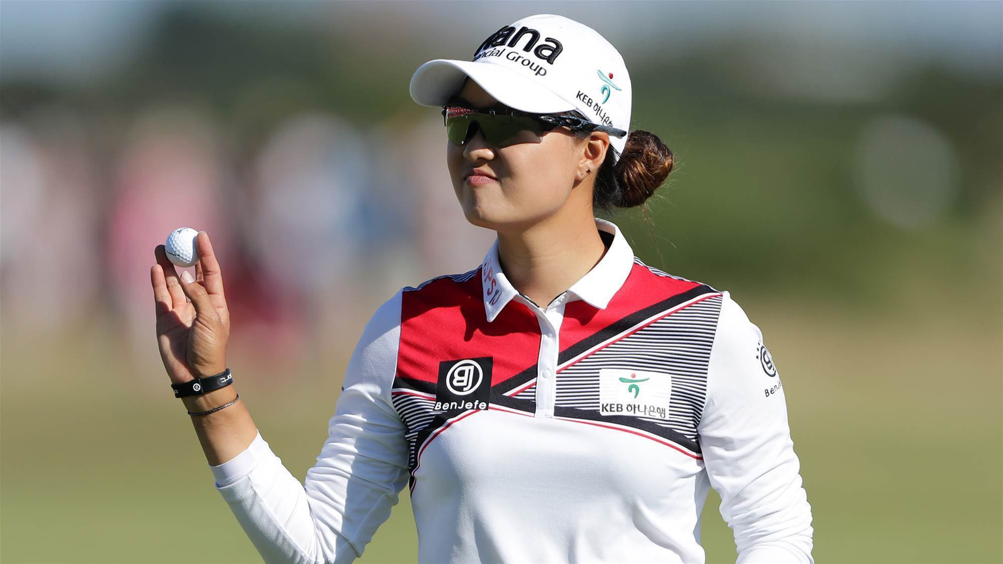 Minjee Lee leading Women's British Open