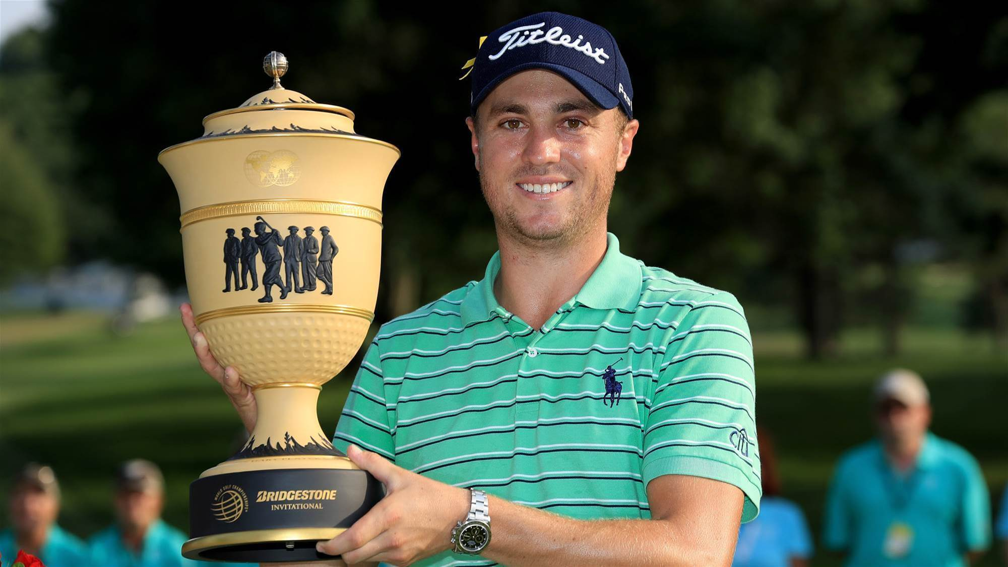 Thomas cruises to WGC-Bridgestone victory