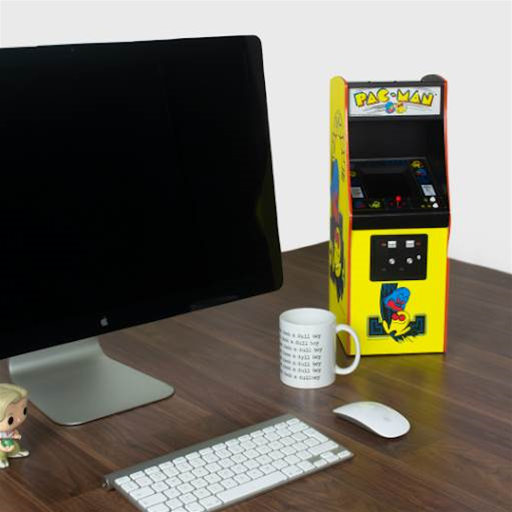 Quarter Arcades Pac-Man is an authentic and fully playable pint-sized arcade cabinet for your desk