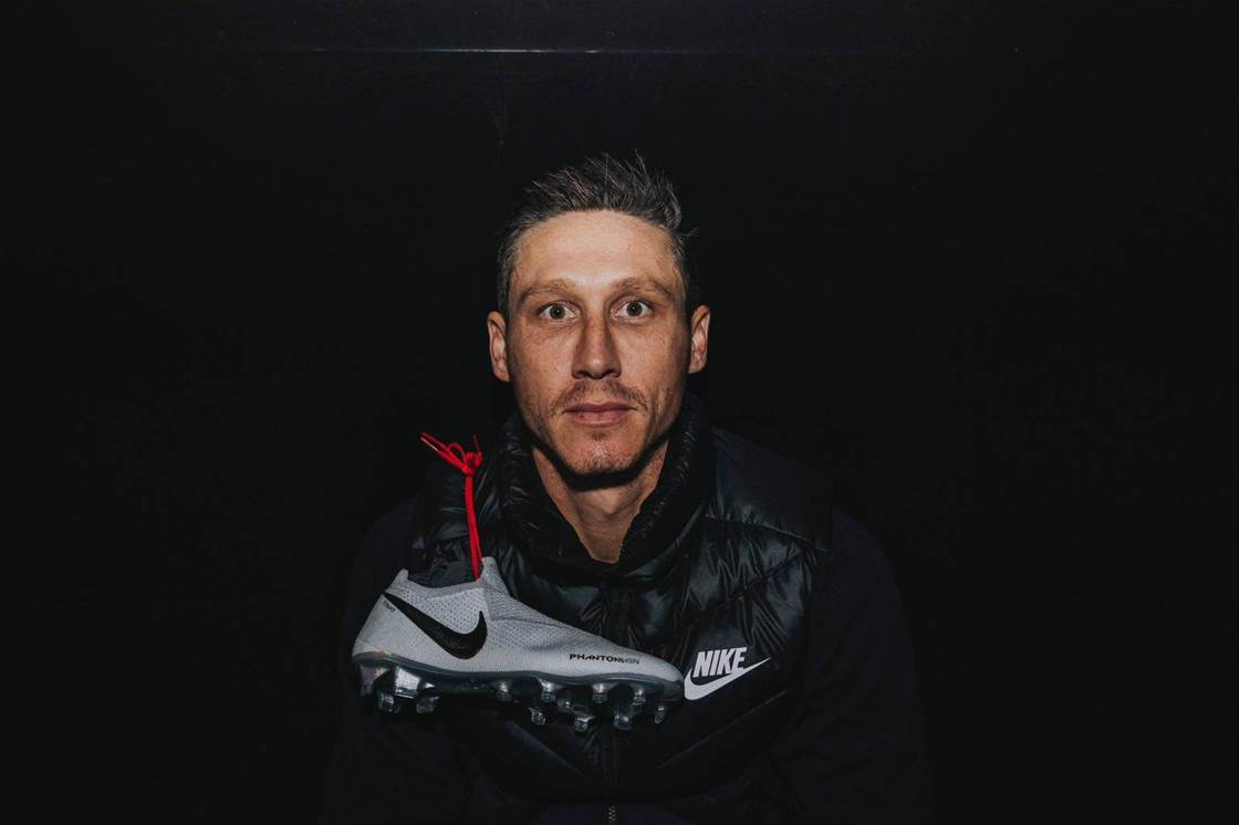 Mark Milligan loves his new Nike PhantomVSN