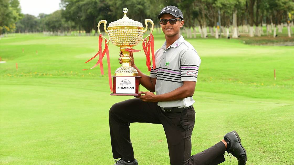 ASIAN TOUR: Magical Madappa claims victory at TAKE Solutions Masters