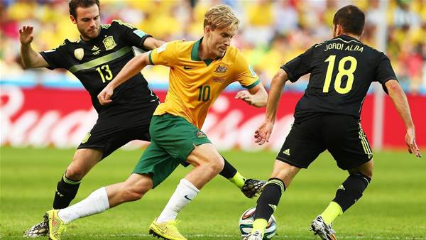 Reds sign World Cup Socceroo