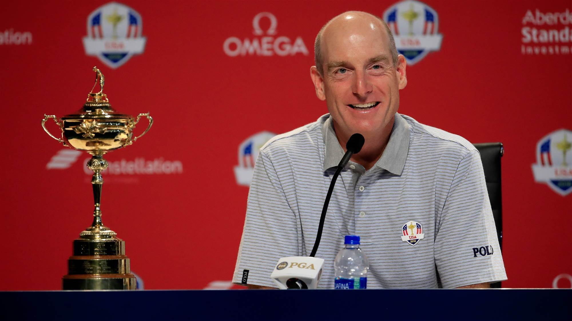 Furyk hints Woods could get Ryder Cup call