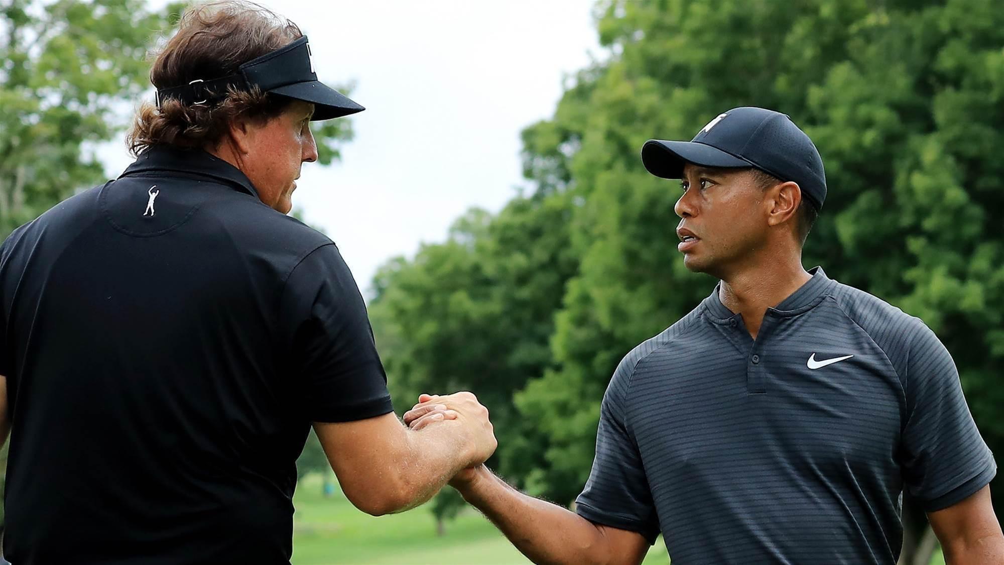 Woods & Mickelson in $9M Vegas showdown