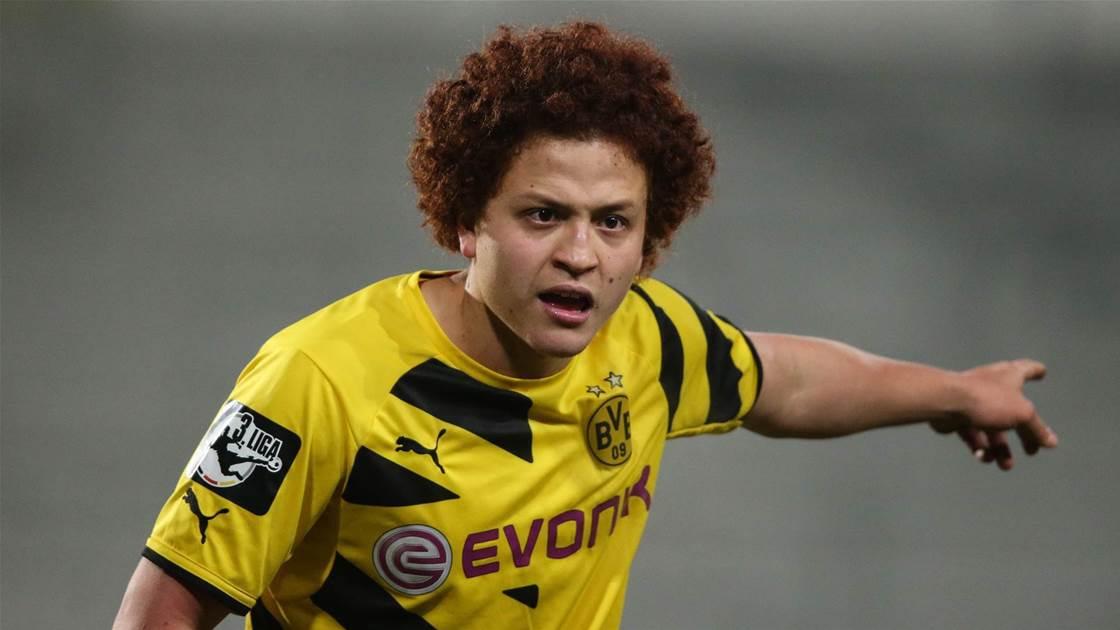 WATCH: Amini scores rare header in Superliga win
