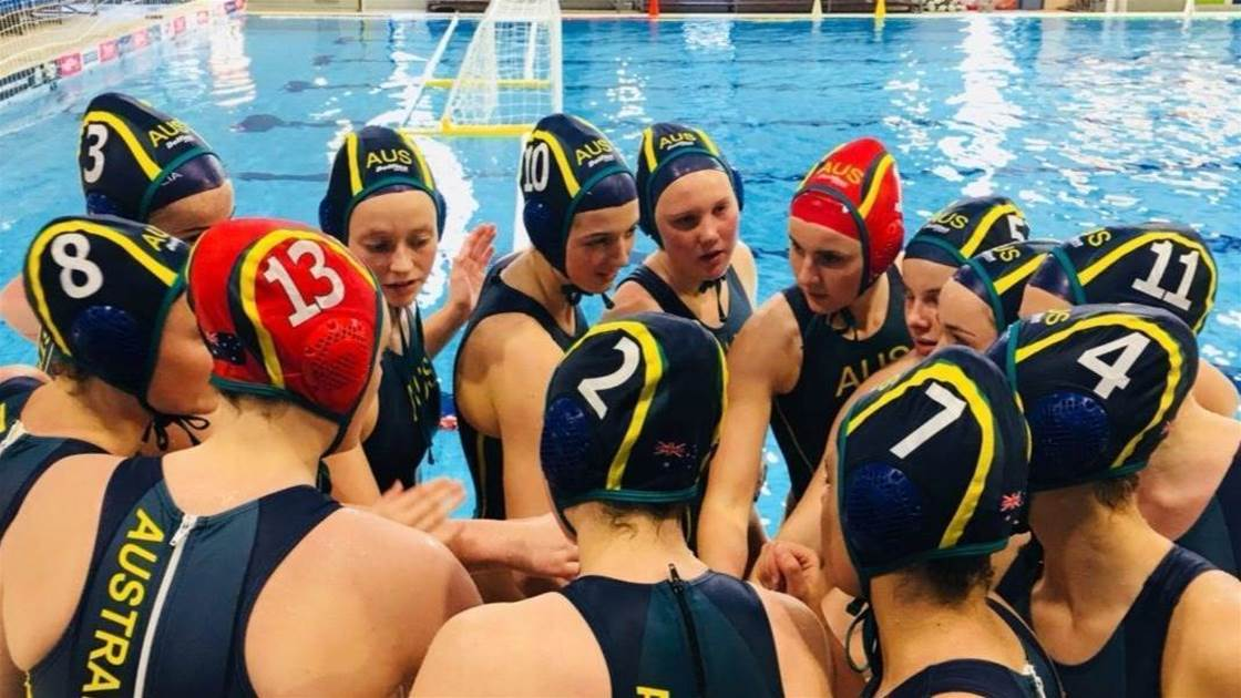 Australia Youth Waterpolo head to Serbia