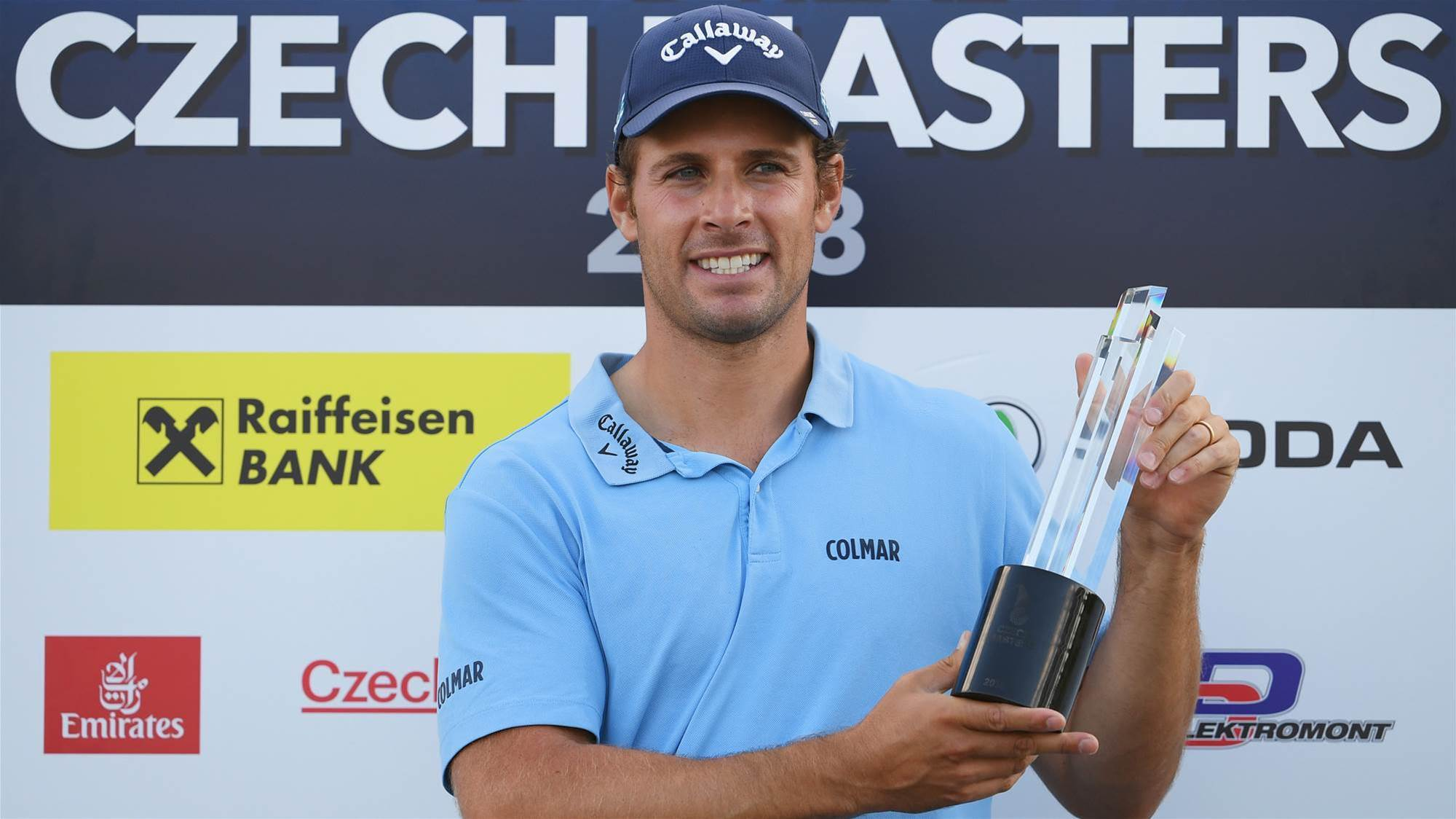 Pavan claims Czech Masters
