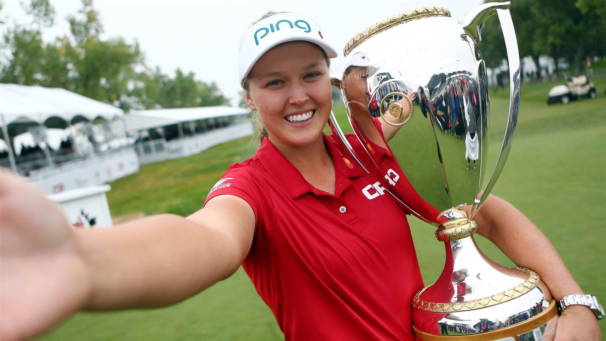 Canadian star Henderson triumphant at home Open