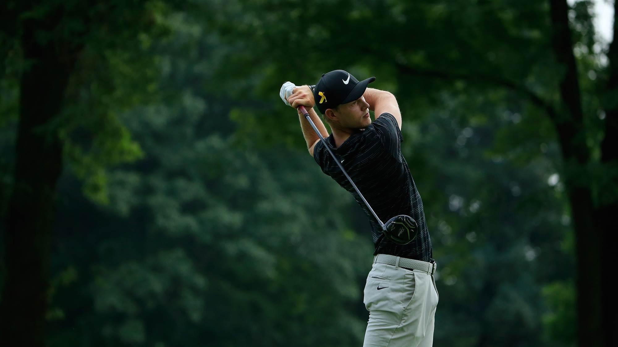 Cameron Davis earns PGA tour card