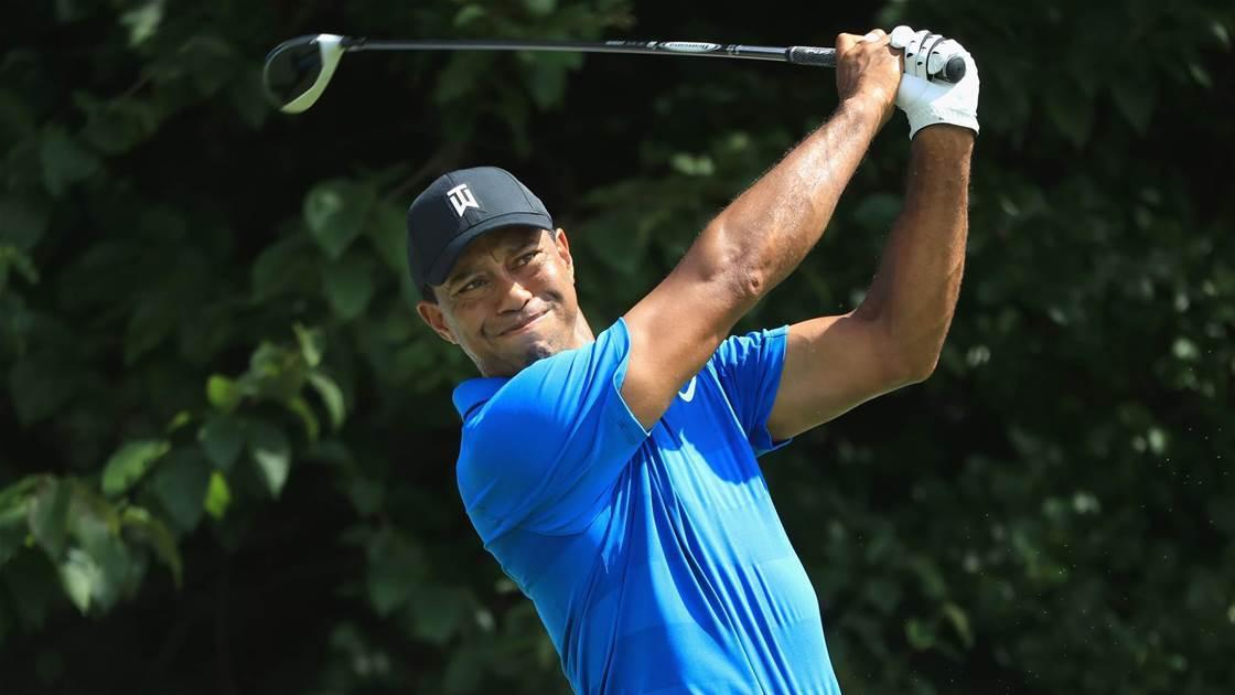 Confident Woods predicting bright future