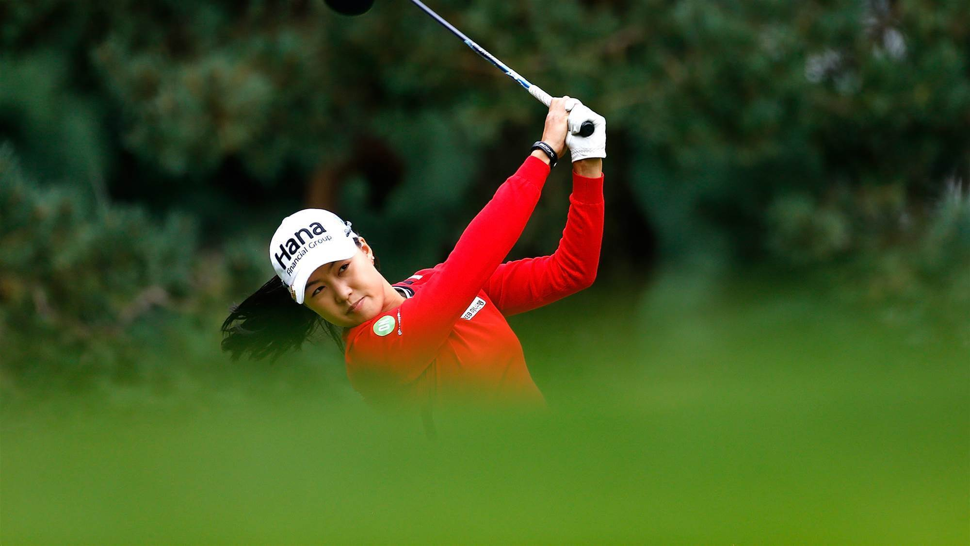 LPGA: Lee shines but Alex equals course record