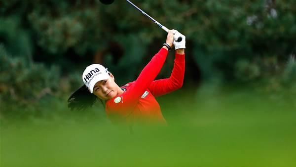 LPGA: Lee shines but Alex equals course record