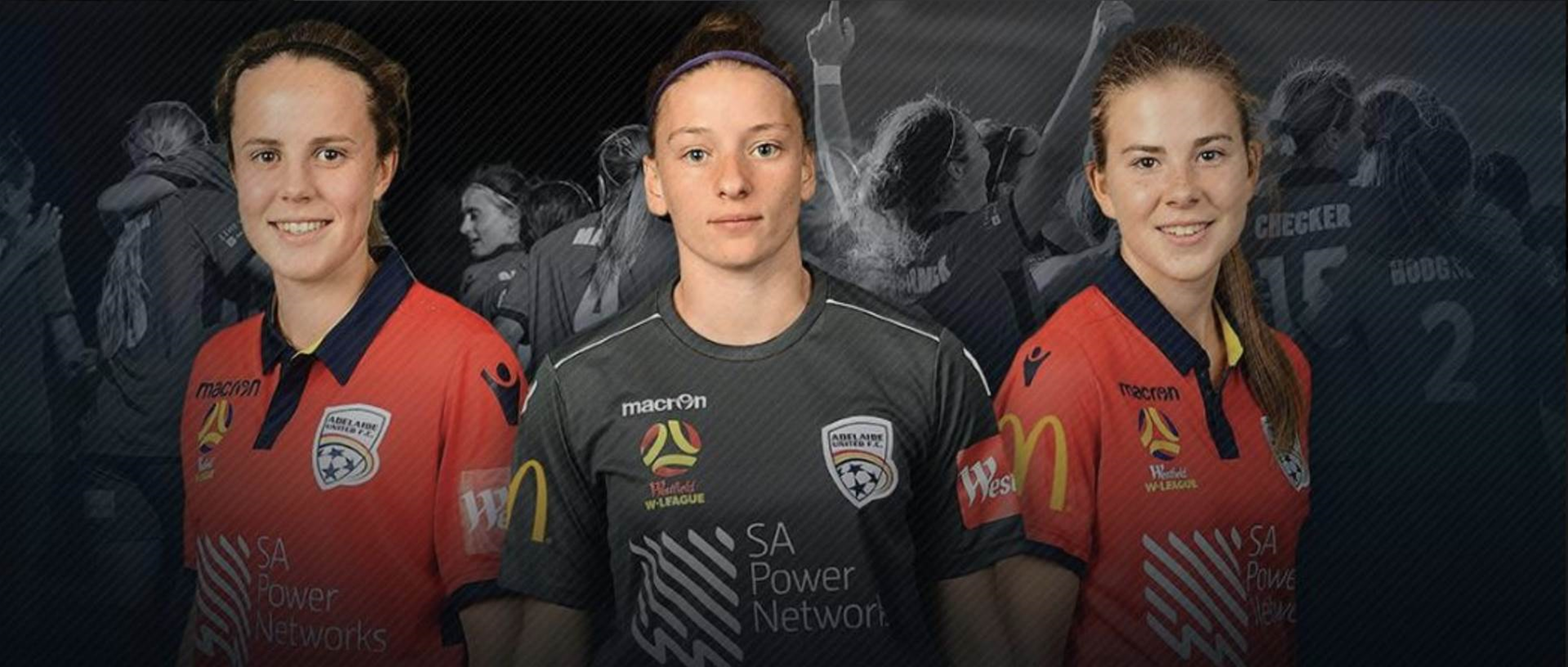 Adelaide re-signs young trio