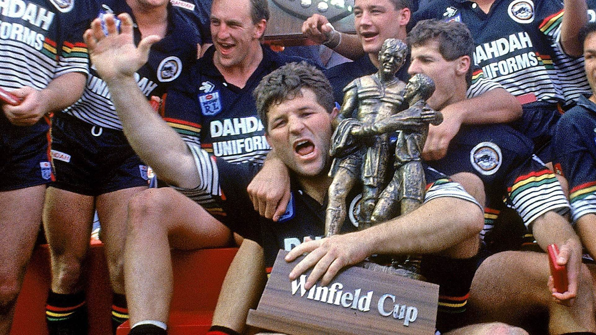 Royce fights back from injury to win 1991 grand final