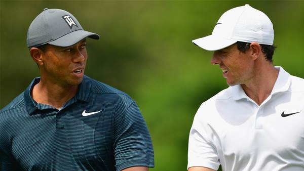 Tiger & Rory share BMW Championship lead