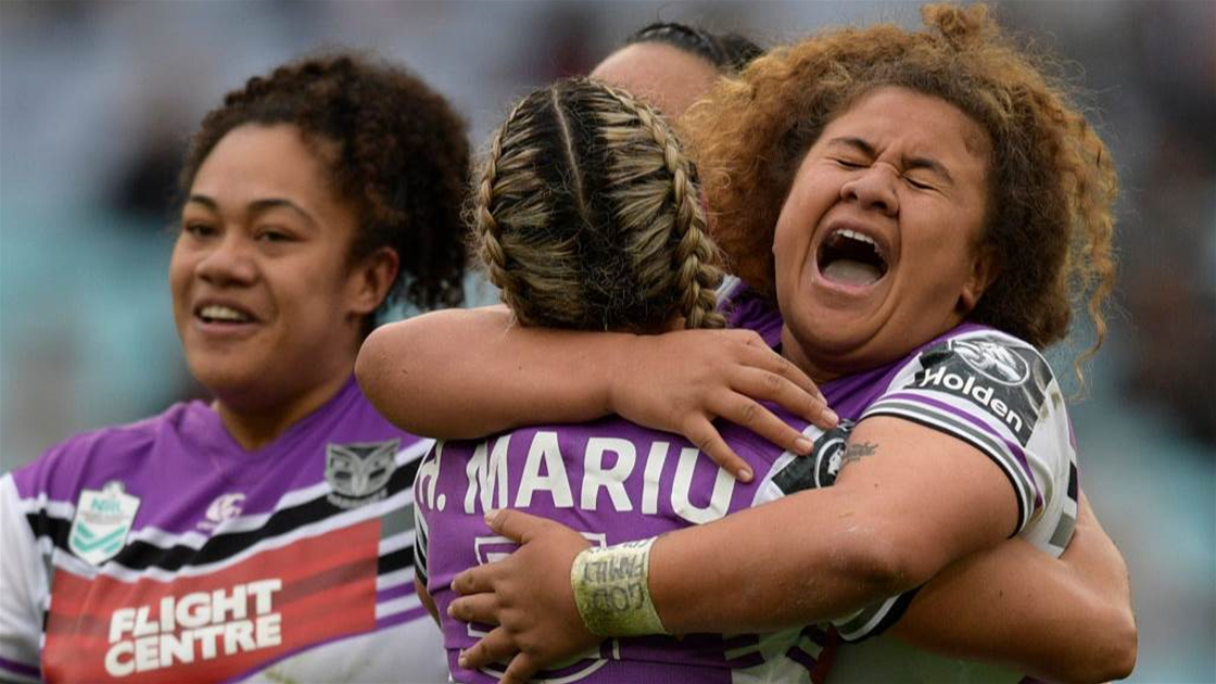 Warriors start fast in beating Roosters women in NRLW opener