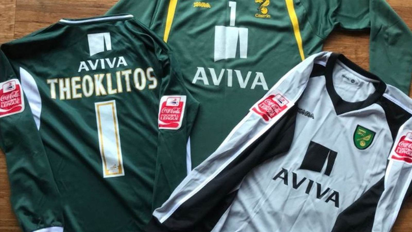Aussie's notorious Norwich shirts in op shop