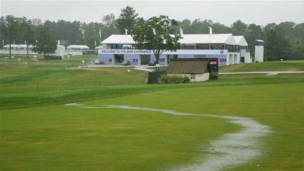 Rain delay: BMW could be shortened to 54 holes