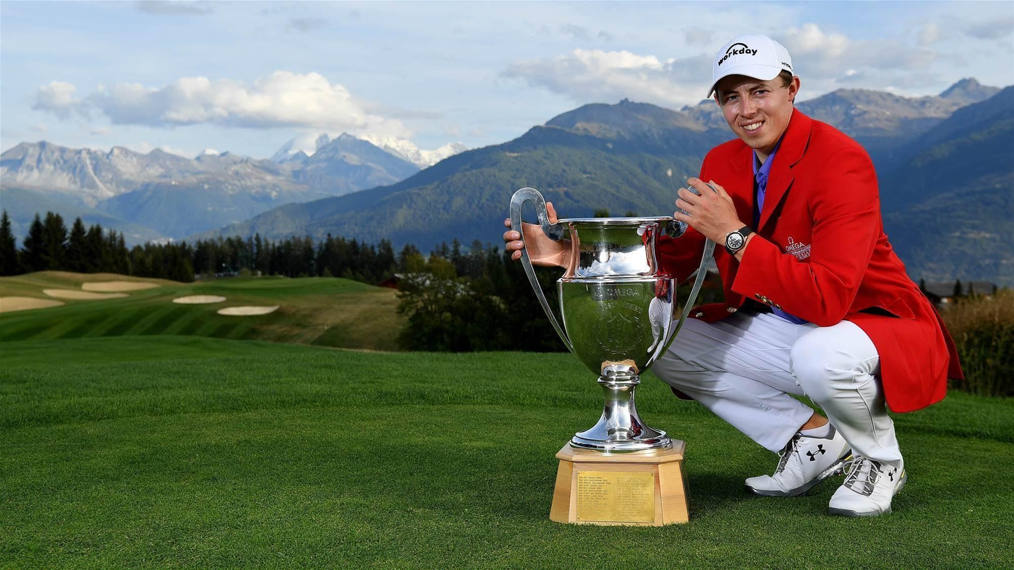 Fitzpatrick retains European Masters title