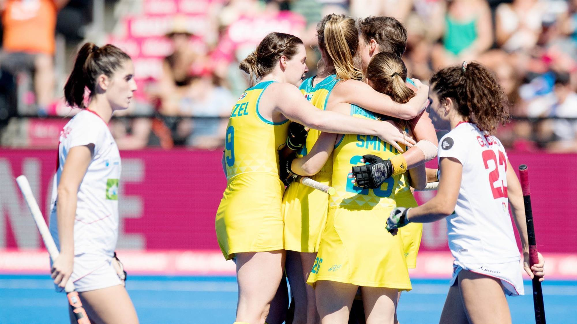 Hockeyroos Beaten in Four Nations Decider