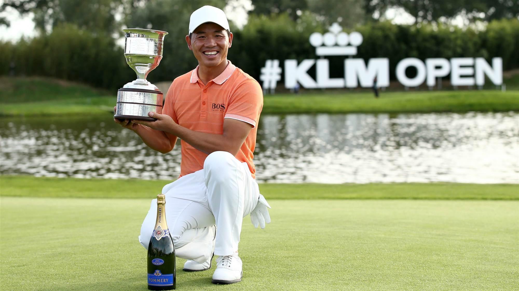 European Tour: Ashun Wu claims KLM Open