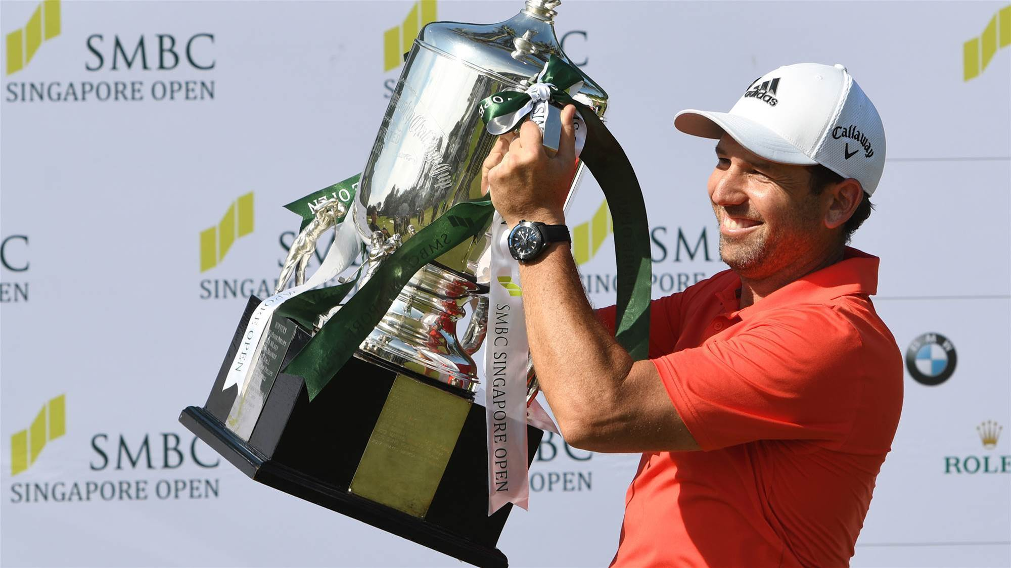 Return of the Champion: Garcia to defend Singapore Open