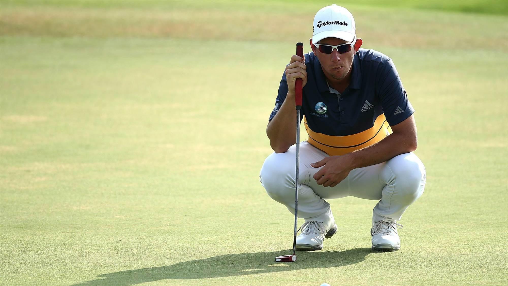 Lucas Herbert leads Portugal Masters