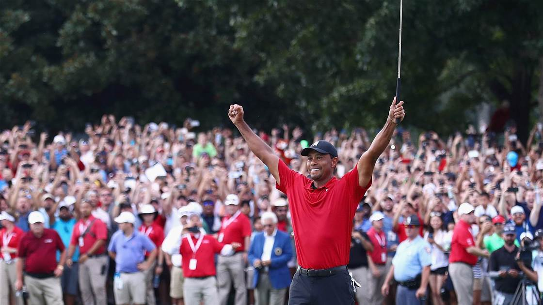Woods caps comeback with Tour Championship win