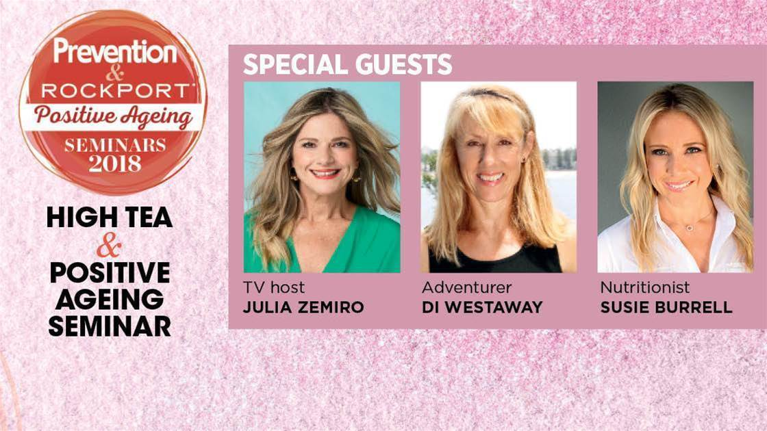 Have Tea With Julia Zemiro!