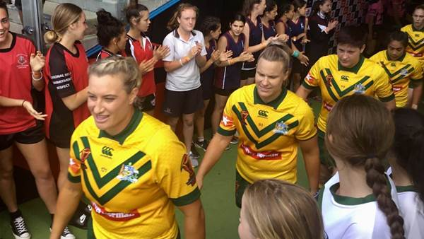 A changing of the guard for Jillaroos