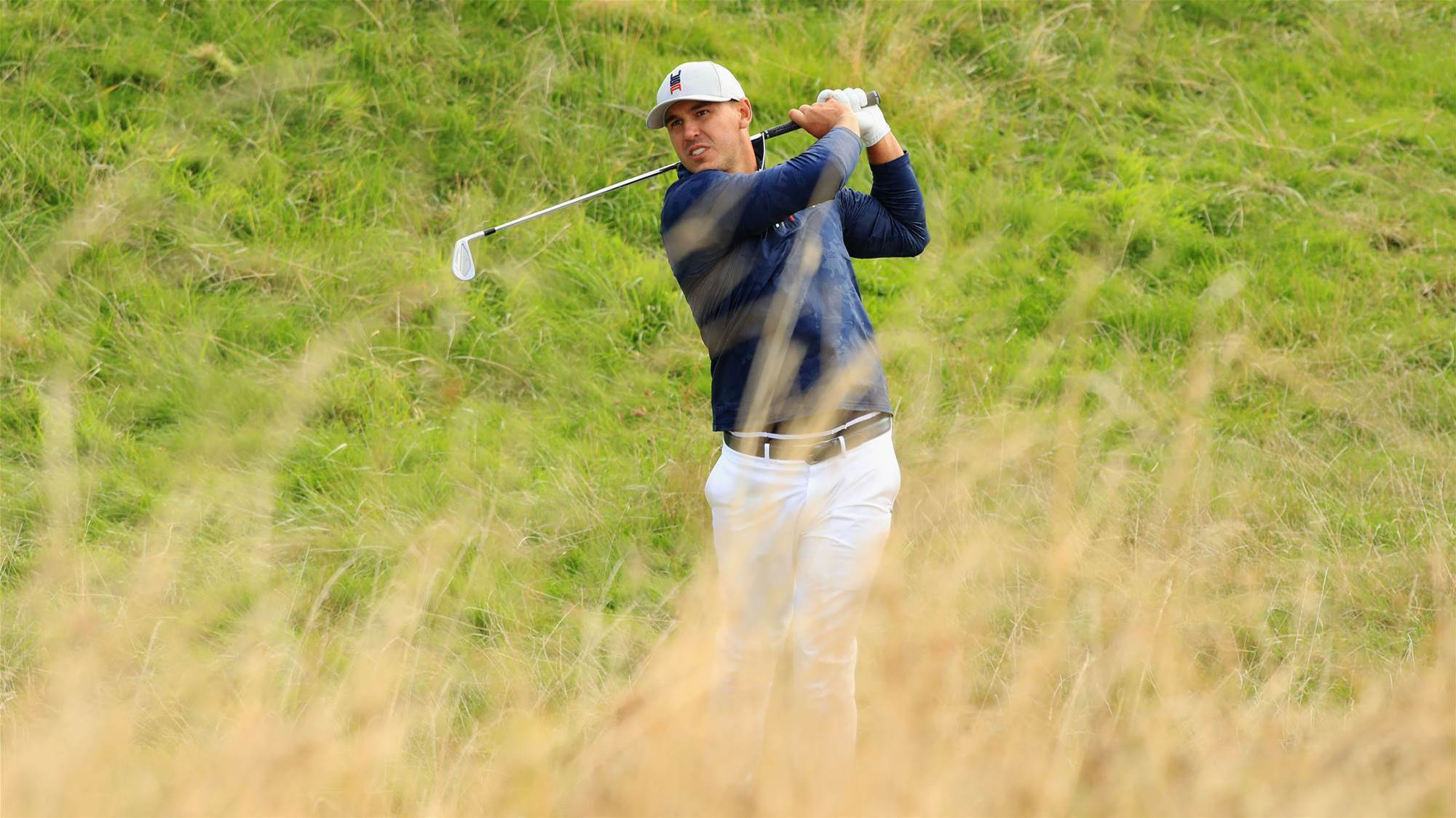 Koepka 'heartbroken' as spectator loses sight