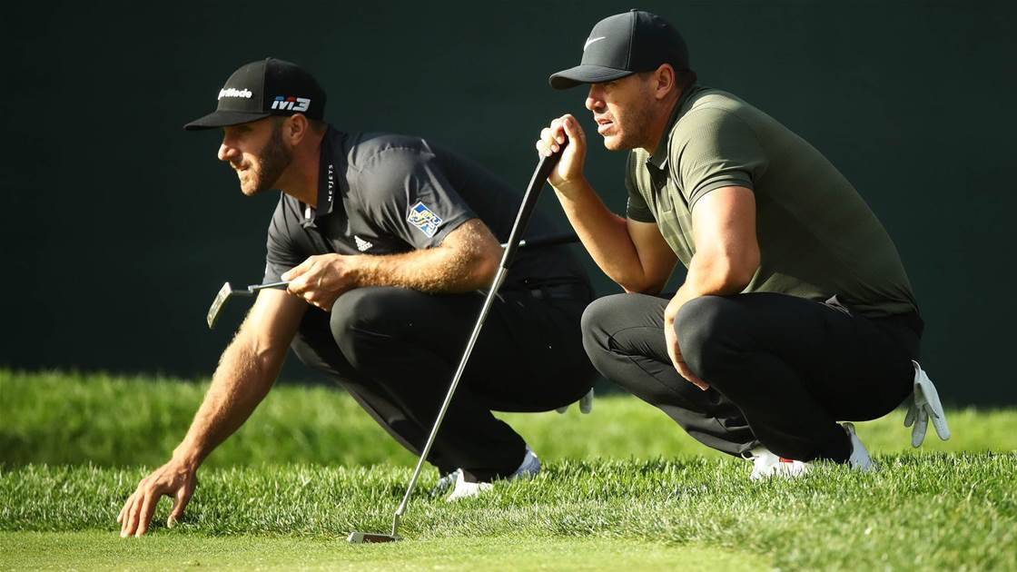 Koepka denies Johnson bust-up