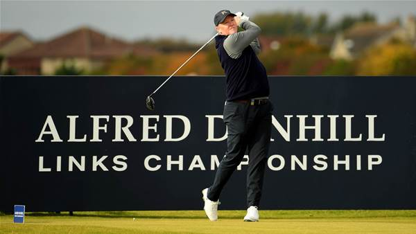 Fraser tied for lead at Alfred Dunhill Links