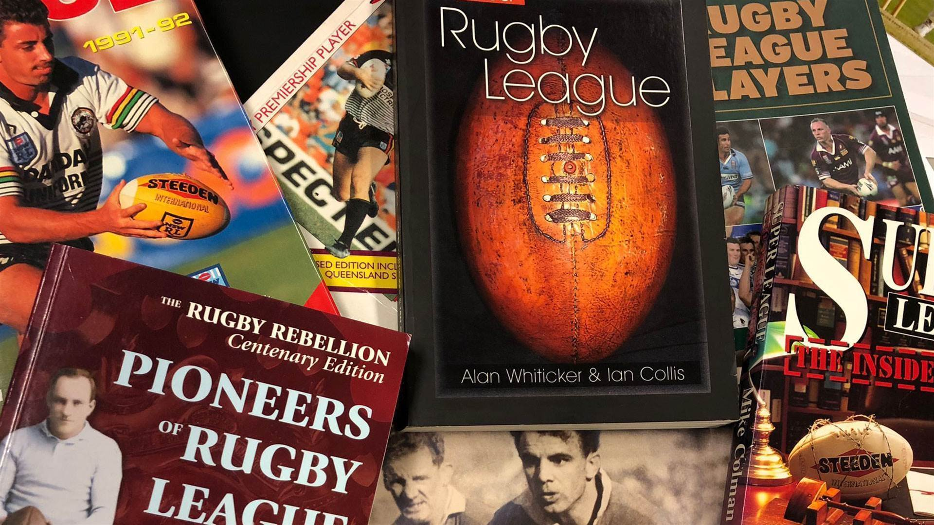 The all-time great rugby league books