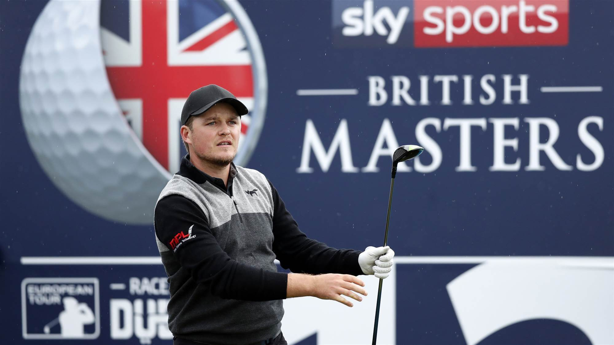 Ace hands Pepperell share of British Masters lead