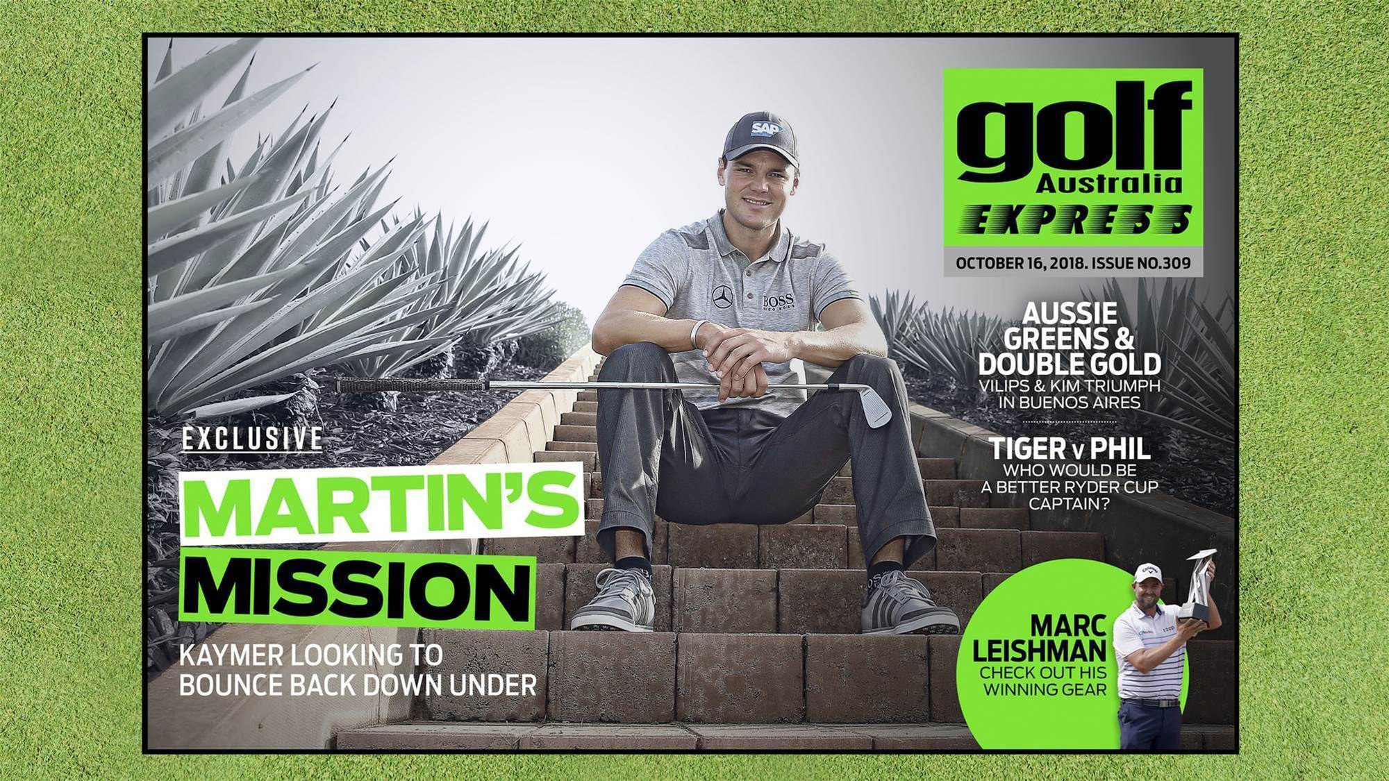 GA Express #309: Martin's Mission Down Under