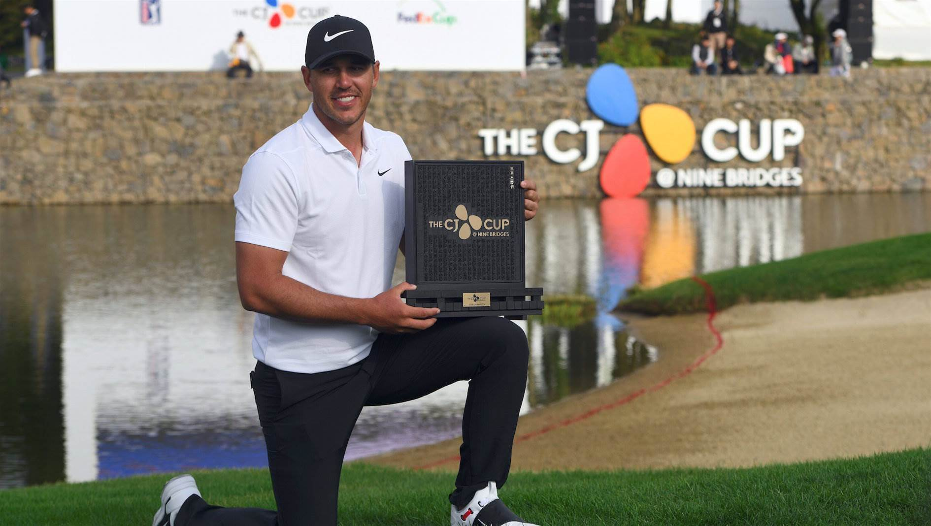 Koepka wins CJ Cup to become World No.1