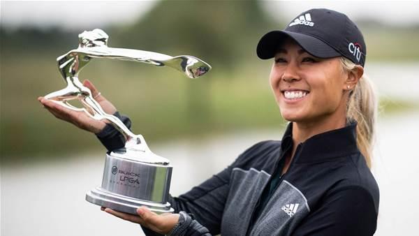 Danielle Kang claims the LPGA Shanghai