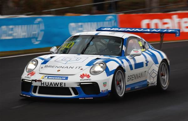 Brennan IT's Dave Stevens hits the track in Bathurst, Gold Coast