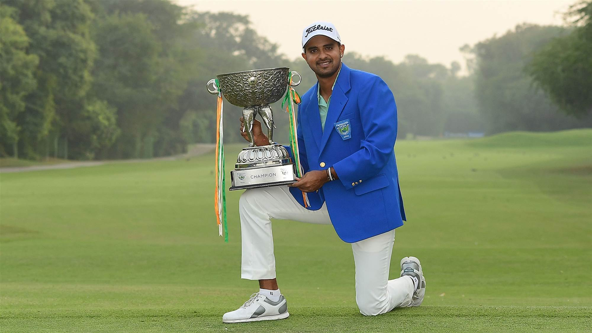 Asian Tour: Home favourite Joshi snatches first title
