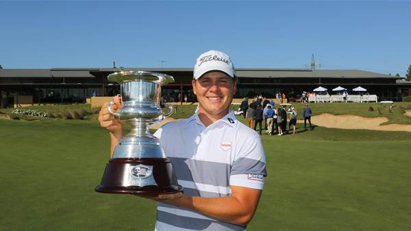McLeod walking on air after NSW Open victory