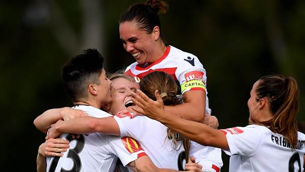 Reds create history in Brisbane