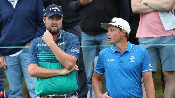 Leishman & Smith share World Cup lead