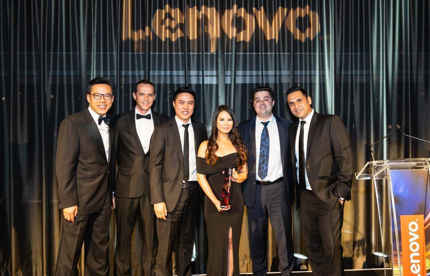 ASI Solutions, Blue Connections, Dicker Data scoop Lenovo ANZ partner awards