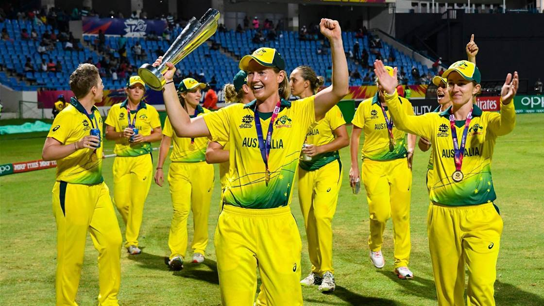Re-live Australia's World T20 Final win
