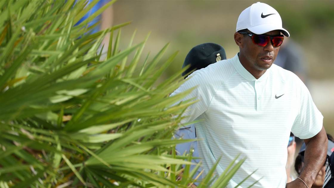 Woods spared penalty in Hero Challenge