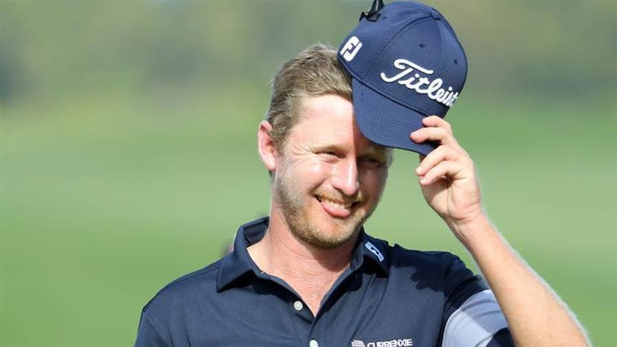 Harding holds joint lead at Mauritius Open